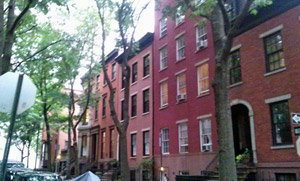 historic street in brooklyn heights