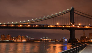 View of Manhattan Bridge