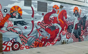 mural in williamsburg brooklyn