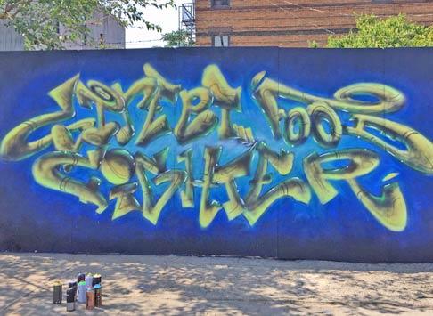 Hire A Graffiti Or Street Artist Nyc Vicinity Brooklyn Unplugged Tours